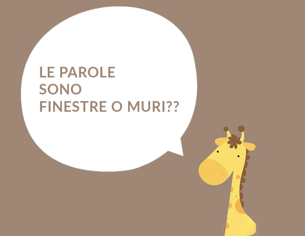 L'UOMO, LA GIRAFFA e LE PAROLE